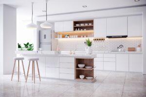 meble kuchenne białe na zamówienie