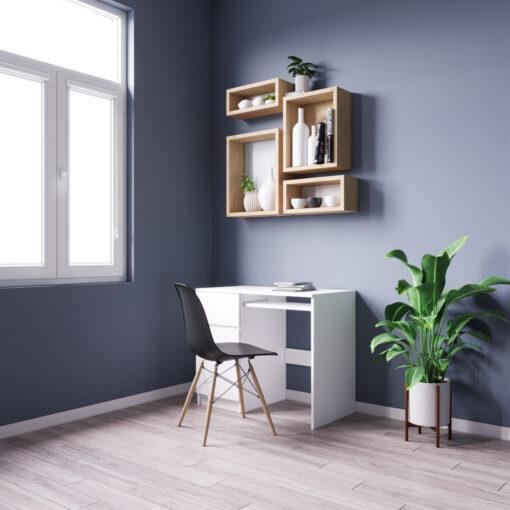 biurko białe na wymiar